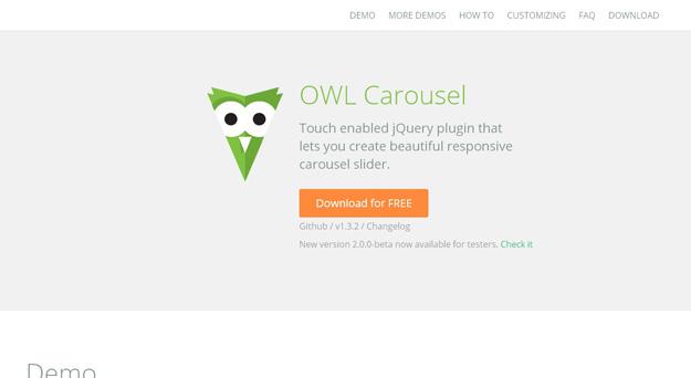 Owl carousel